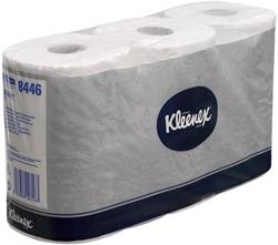 Kleenex toiletpapier, 2-laags, 600 vellen, pak van 6 rollen