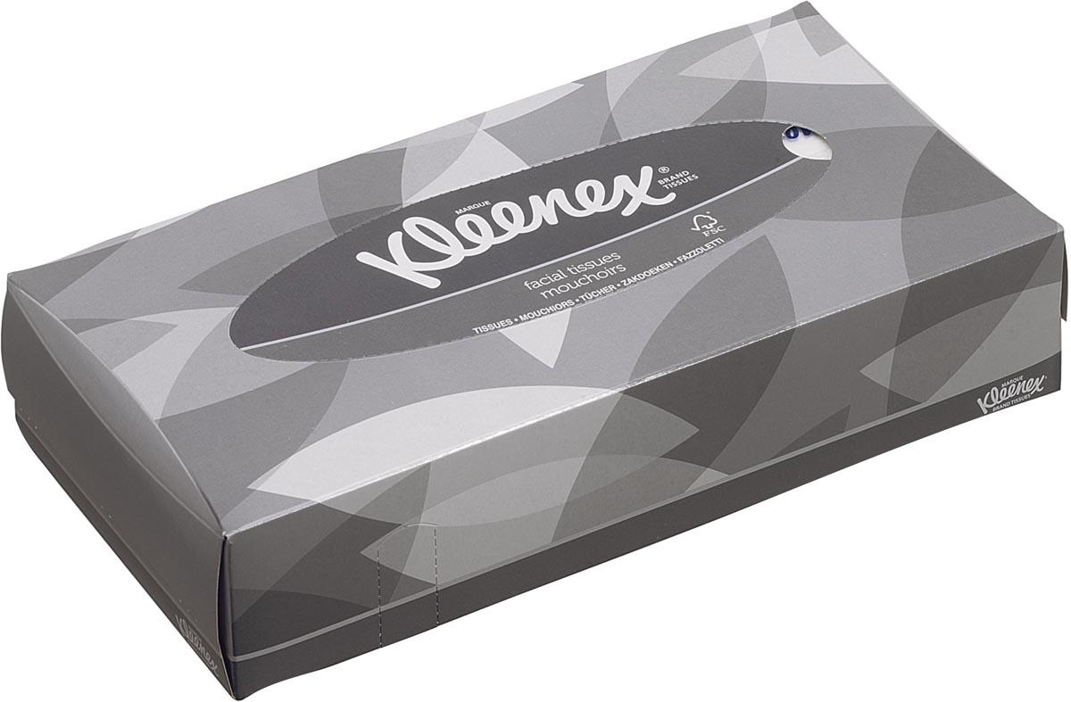 Kleenex zakdoeken 100 zakdoeken, ft 21,5 x 18,5 mm