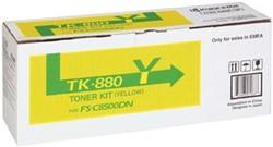 Kyocera Toner geel TK880Y - 18000 pagina's - 1T02KAANL0