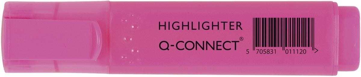 Q-Connect markeerstift, roze