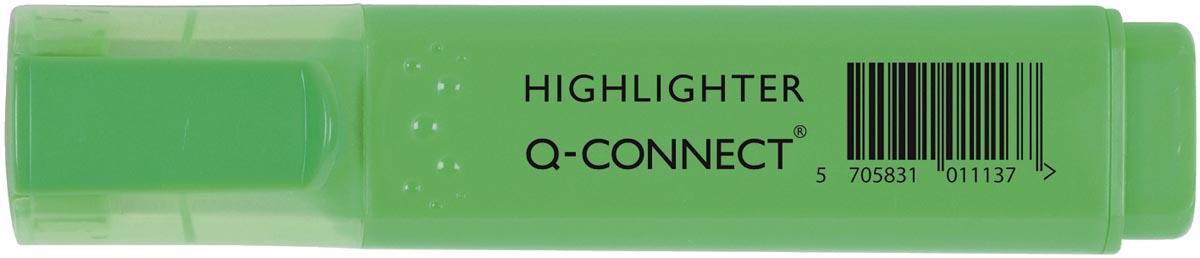 Q-Connect markeerstift, groen