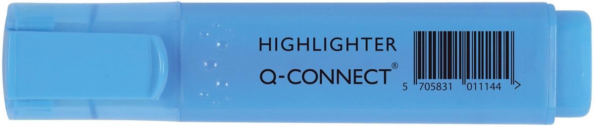 Q-Connect markeerstift, blauw