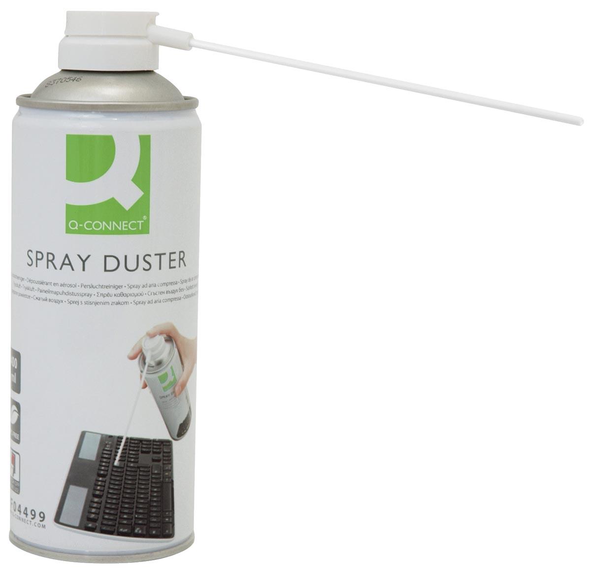 Q-Connect persluchtreiniger HFC free, 400 ml