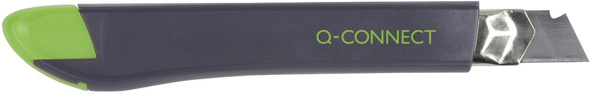 Q-Connect Heavy Duty cutter, zwart/groen