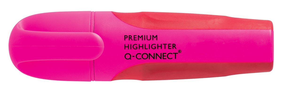Q-Connect Premium markeerstift, roze