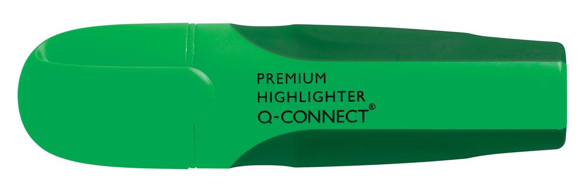 Q-Connect Premium markeerstift, groen