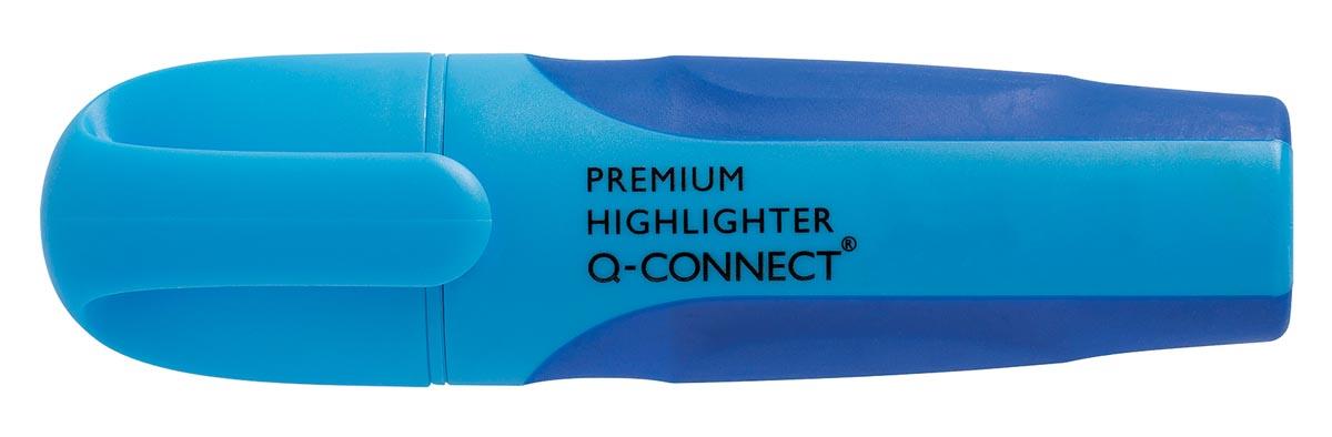 Q-Connect Premium markeerstift, blauw