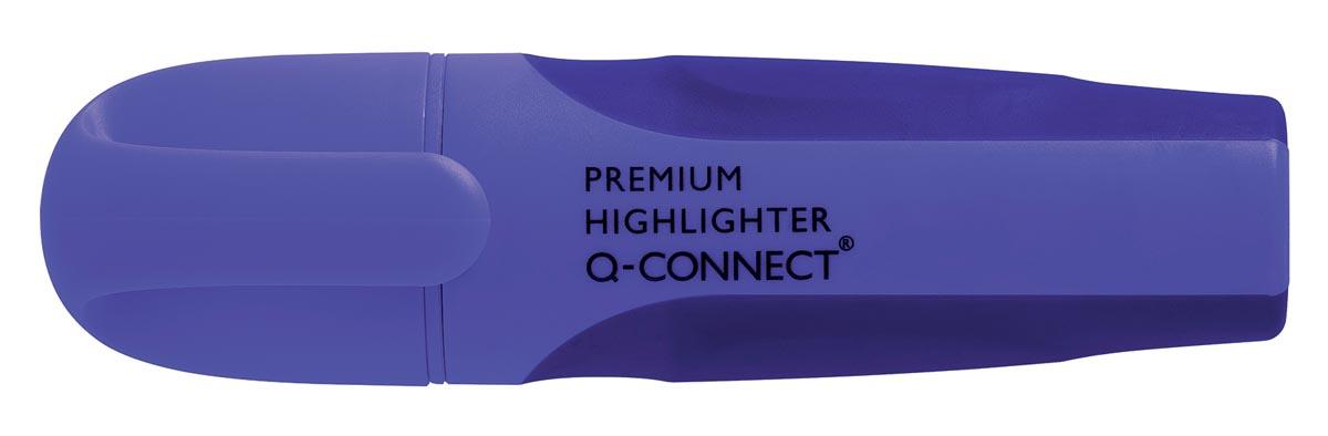 Q-Connect Premium markeerstift, paars