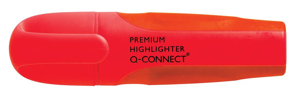 Q-Connect Premium markeerstift, rood
