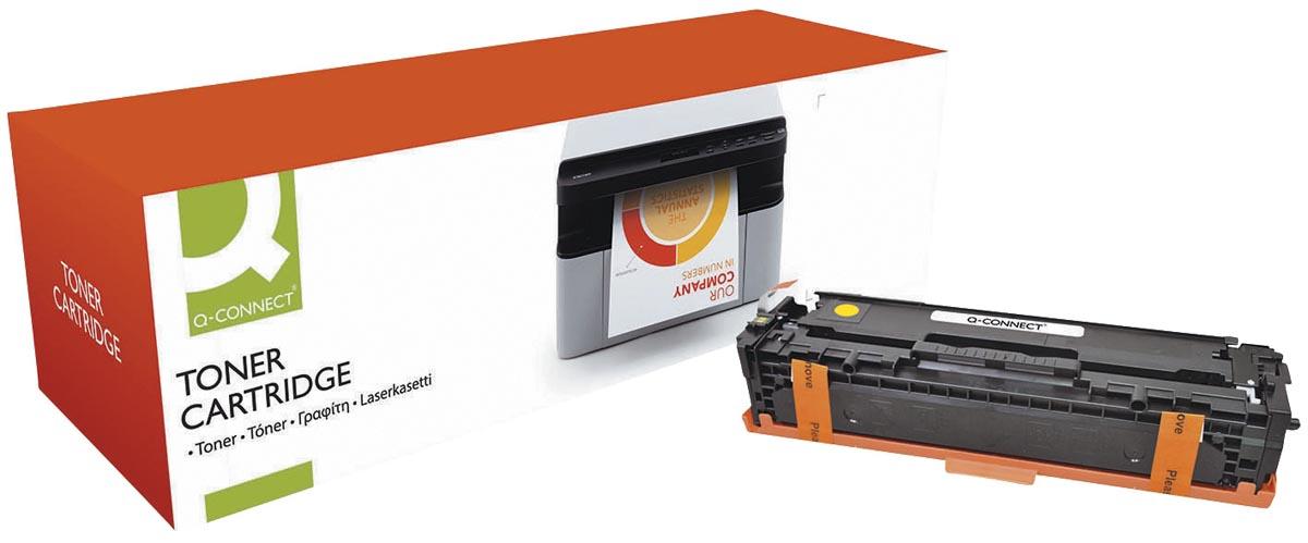 Q-Connect toner geel 1800 pagina's voor HP - OEM: CF212A