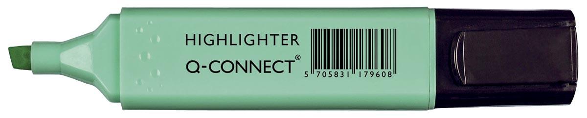 Q-Connect markeerstift pastel, blauw