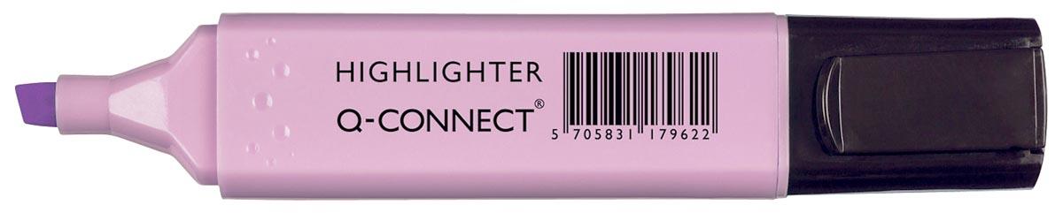 Q-Connect markeerstift pastel, violet