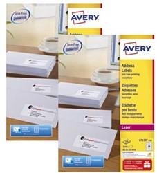 Actie Avery etiketten (L7159): 2 stuks + 10% korting