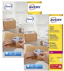 Actie Avery etiketten (L7165): 2 stuks + 10% korting