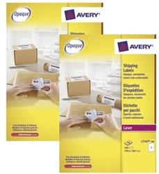 Actie Avery etiketten (L7167): 2 stuks + 10% korting