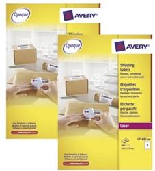 Actie Avery etiketten (L7169): 2 stuks + 10% korting