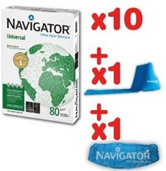 Actie Navigator 10 X pakken 500 vel (NAV080) + GRATIS kite en luchtkussen