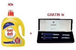 Actie Dreft: 40 x 156204 + 1 x pen van Balmain GRATIS