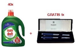 Actie Dreft: 40 x 156235 + 1 x pen van Balmain GRATIS