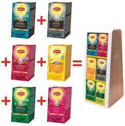 Actie Lipton: 6 x verschillende smaken Exclusive Selection + 1 x display GRATIS (ref. LIPDISP)