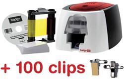 Actie Badgy printer (BDG200) + GRATIS 1 clip (1440001)