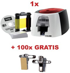 Actie Badgy printer (BDG200) + GRATIS linten (BGP0001)