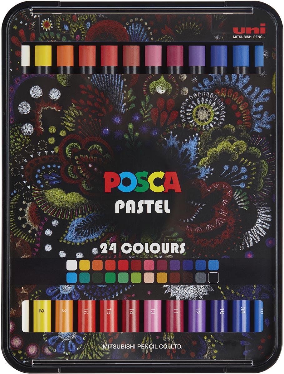 Posca Pastels, doos met 24 stuks