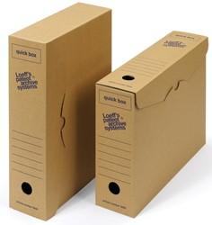 Loeff's achiefdoos Quick box 335x240x80 mm               Pak van 50 stuks