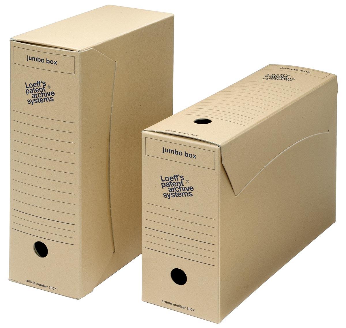 Loeff's gemeentearchiefdoos Jumbo box, pak van 25 stuks