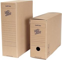 Loeff's Box, ft 37 x 26 x 11,5 cm, bruin, pak van 50 stuks