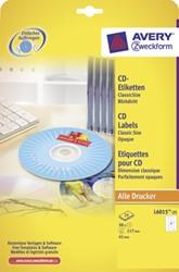 Avery Etiketten voor CD
