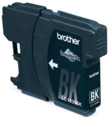 Brother inktcartridge, 450 pagina's, OEM LC-1100BK, zwart
