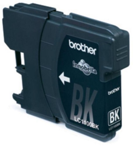 Brother inktcartridge zwart, 450 pagina's - OEM: LC-1100BK