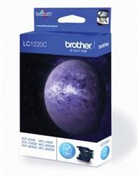 Brother inktcartridge cyaan, 300 pagina's - OEM: LC-1220C