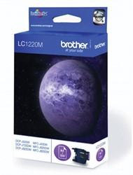 Brother inktcartridge magenta, 300 pagina's - OEM: LC-1220M