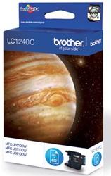 Brother inktcartridge cyaan, 600 pagina's - OEM: LC-1240C