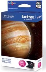 Brother inktcartridge magenta, 600 pagina's - OEM: LC-1240M