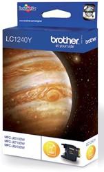 Brother inktcartridge geel, 600 pagina's - OEM: LC-1240Y