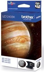 Brother inktcartridge zwart, 600 pagina's - OEM: LC-1240BK