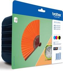 Brother inktcartridge 4 kleuren, 2400 pagina's - OEM: LC-129XLVALBPDR