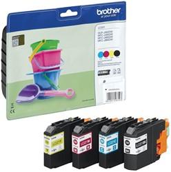 Brother inktcartridge 4 kleuren, 260 pagina's - OEM: LC-221VALBP