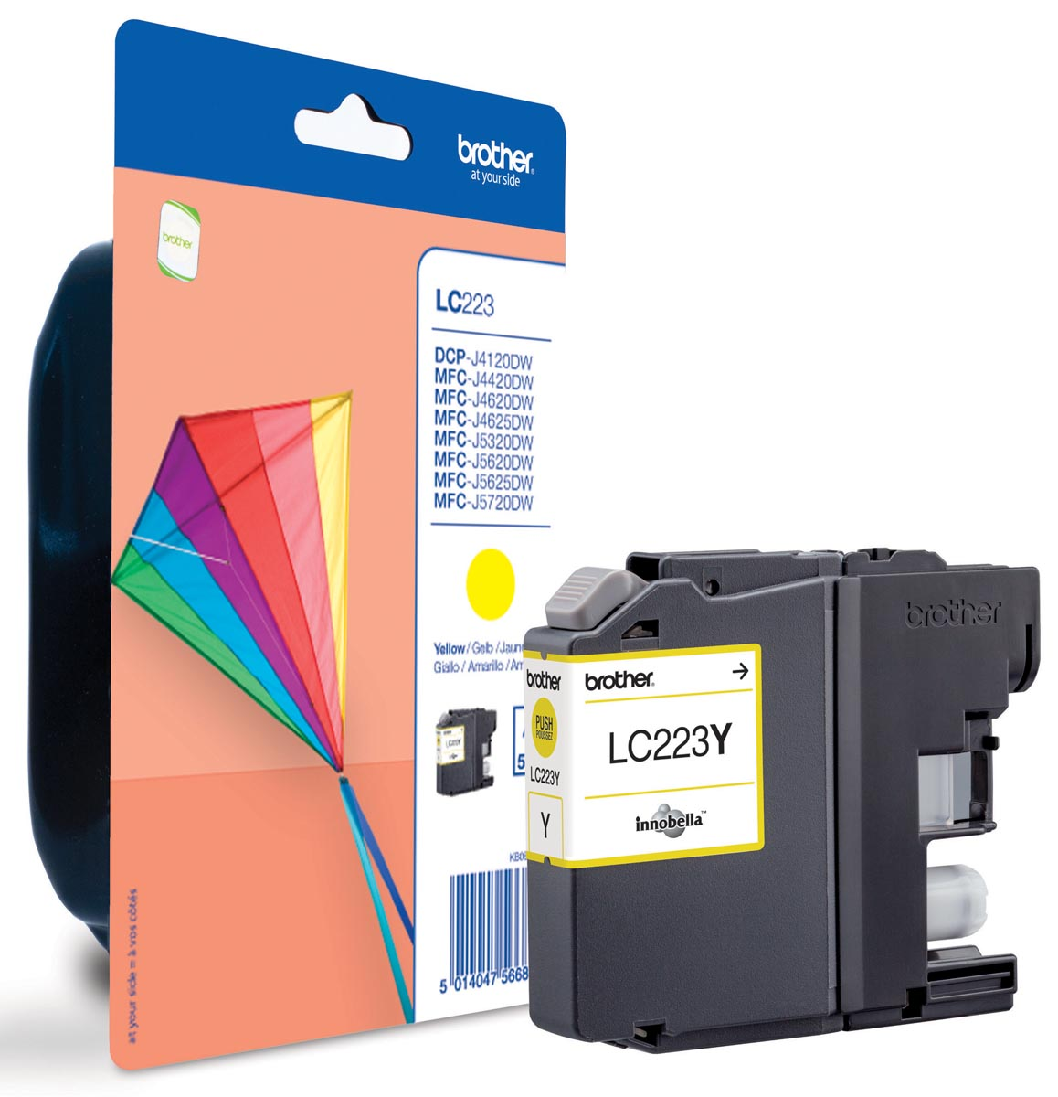 Brother LC-223YBP inktcartridge