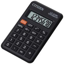 Citizen zakrekenmachine LC-310N, zwart