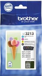 Brother inktcartridge 4 kleuren, 400 pagina's - OEM: LC-3213VAL