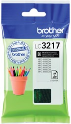 Brother inktcartridge zwart, 550 pagina's - OEM: LC-3217BK
