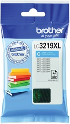 Brother inktcartridge cyaan, 1500 pagina's - OEM: LC-3219XLC