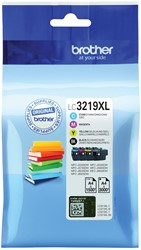 Brother inktcartridge 4 kleuren, 1500 - 3000 pagina's - OEM: LC-3219XLVAL