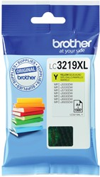 Brother inktcartridge geel, 1500 pagina's - OEM: LC-3219XLY