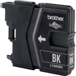 Brother inktcartridge zwart twin pack, 300 pagina's - OEM: LC-985BKBP2