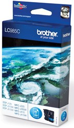 Brother inktcartridge cyaan, 260 pagina's - OEM: LC-985C